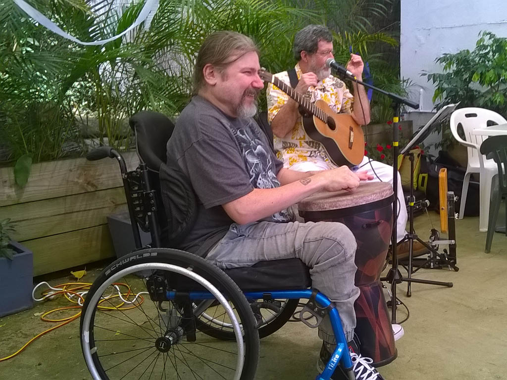 Andrew & David Duo - Sunshine Disability - March 2015